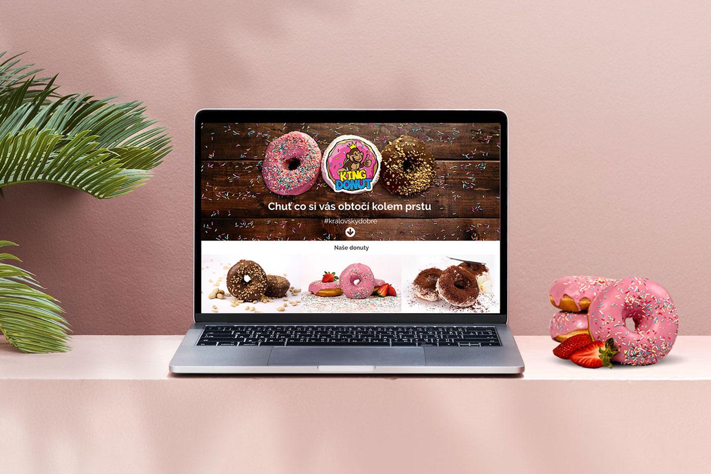 webove-stranky-king-donut