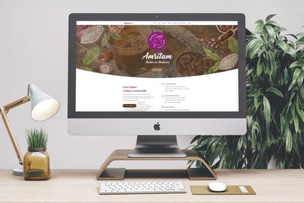 Amritam – webové stránky o kakau