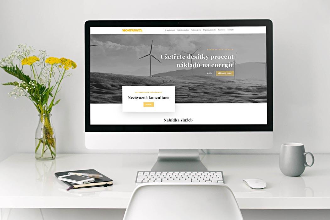 Webové stránky Montravel